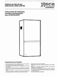 Manual Caldera Chaffoteaux Ngm 15