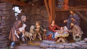Baby Jesus Manger Nativity Scene