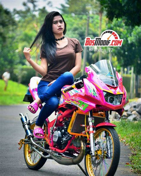 Motor Cantik by Model Cantik Naik Rx King Track Mobile App