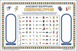 Ancient egyptian hieroglyph stickers color 025575 for Medical chart letter stickers