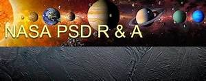 NASA Planetary Science Division Research & Analysis ...