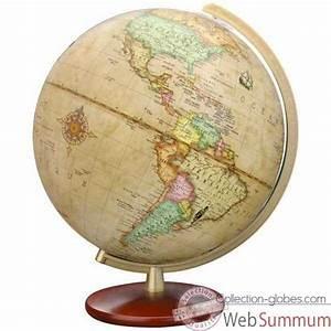 Globe Terrestre Bois : globe terrestre sur collection globes ~ Teatrodelosmanantiales.com Idées de Décoration