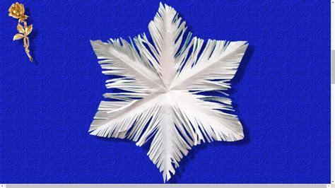flocon de neige en papier flocon de neige d 233 coup 233 en papier
