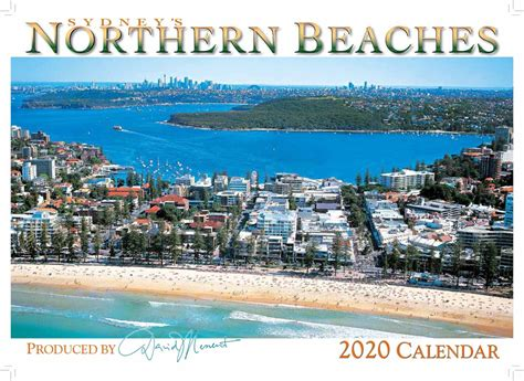 wall calendar sydneys northern beaches david messent photography