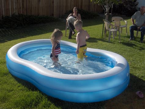 Large Kids Plastic Swimming Pool With Slide