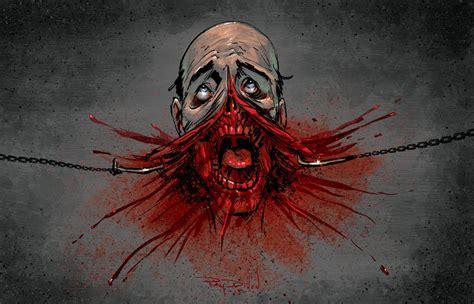 Clive Barker Hellraiser Inspired Horror Art By Raydillon