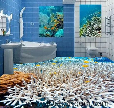 white coral   sea  floor decals  wallpaper