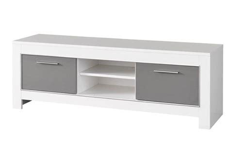modele de cuisines meuble tv modena laquée blanc grise