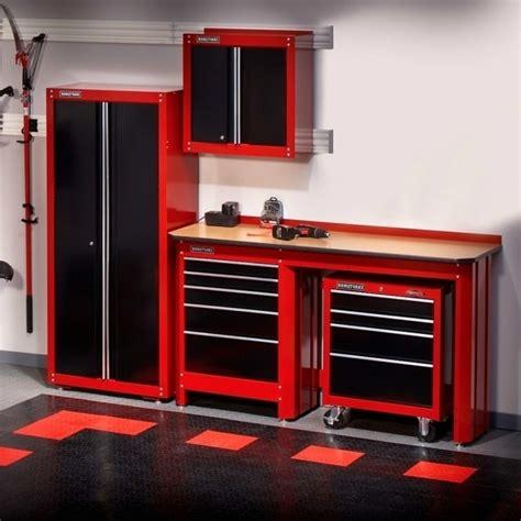 red and black garage cabinets craftsman garage storage best storage design 2017