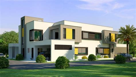 3d front elevation com beautiful home house in pakistan