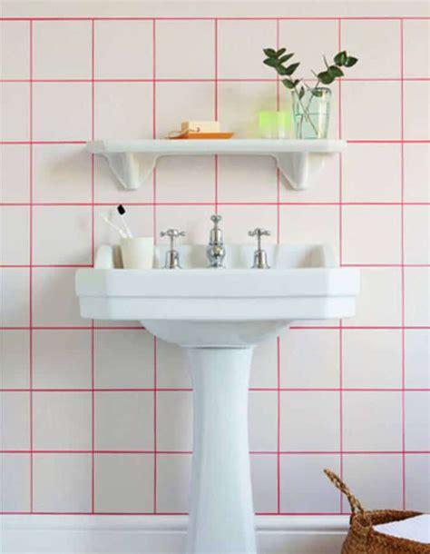 de l originalit 233 dans la salle de bain avec les joints color 233 s