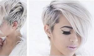 Coupe Cheveux Asymétrique : coupe cheveux courts asymetrique femme coiffures la mode de cette saison ~ Melissatoandfro.com Idées de Décoration