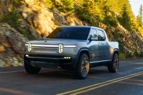 Meet The Rivian R1t, A 400-mile, All-electric Luxury