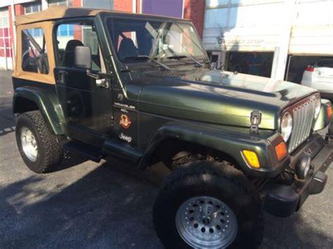 jeep wrangler beach edition buy used 1998 jeep wrangler sahara edition in virginia