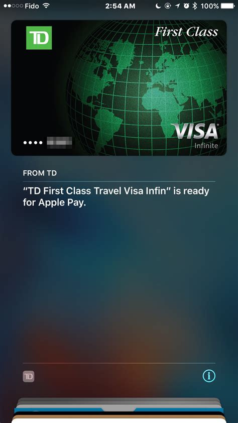 td canada bmo scotiabank launches apple pay  visa debit cards  iphone  canada blog