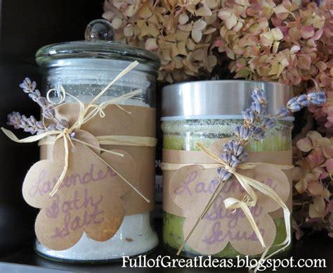 bathroom gift ideas of great ideas diy lavender bath salt easy gifts
