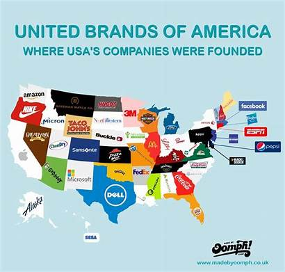 Brands America United Pizza Visual Fedex Map