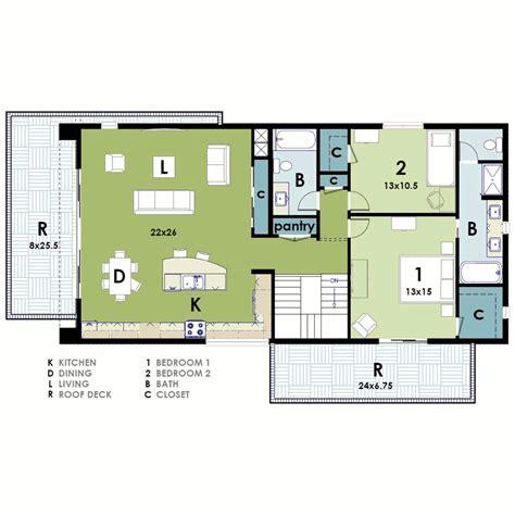 ultra modern house plan