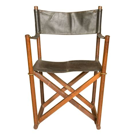 mogens koch folding chair in rosewood and leather at 1stdibs
