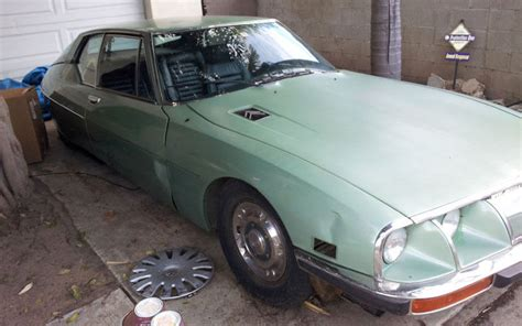 1972 Citroen Sm by Easily Operational 1972 Citroen Sm