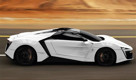 2013 Lykanhypersport  Arab World's First High Performance