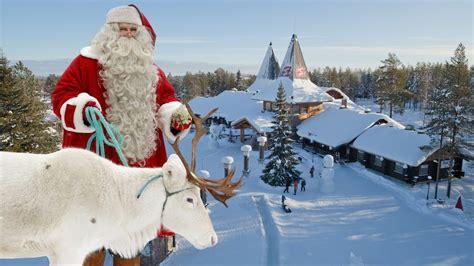 villaggio  babbo natale santa claus lapponia finlandia