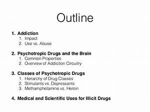 drug related topics for a research paper