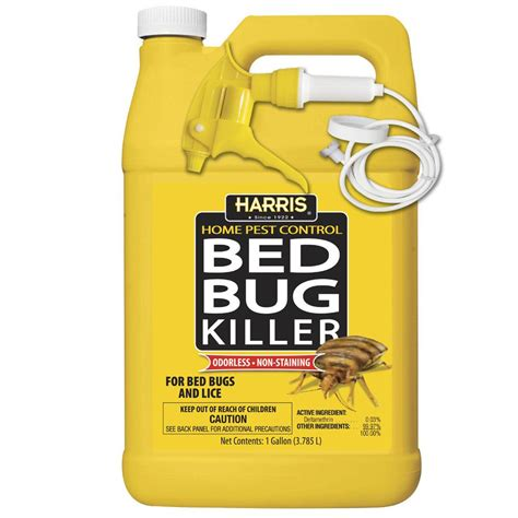 Best Bed Bug Spray Home Depot harris 1 gal bed bug hbb 128 the home depot