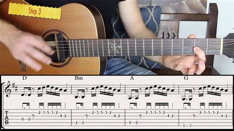 How To Play Licks Between Chords On Acoustic Guitar In 5