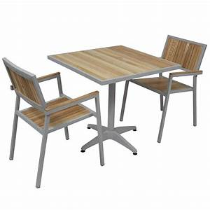 Table Et Chaise De Jardin En Bois : table et chaise de jardin en bois pas cher mc immo ~ Teatrodelosmanantiales.com Idées de Décoration