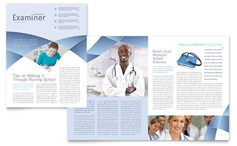 nursing school hospital flyer ad template word publisher
