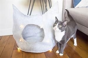 Panier Pour Chat Original : un panier pour chat atelier svila ~ Teatrodelosmanantiales.com Idées de Décoration