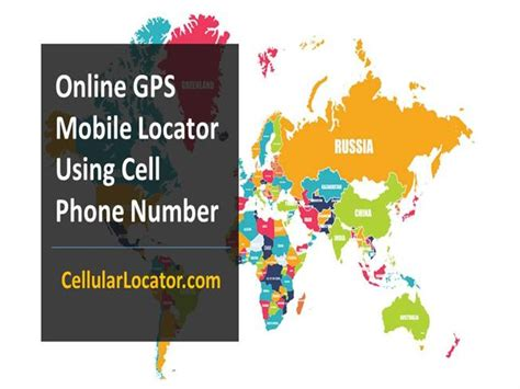 gps mobile locator using cell phone number