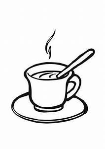 Kaffeetasse Zum Ausmalen : ausmalbilder tasse kaffee speisen und essen malvorlagen ausmalen ~ Orissabook.com Haus und Dekorationen