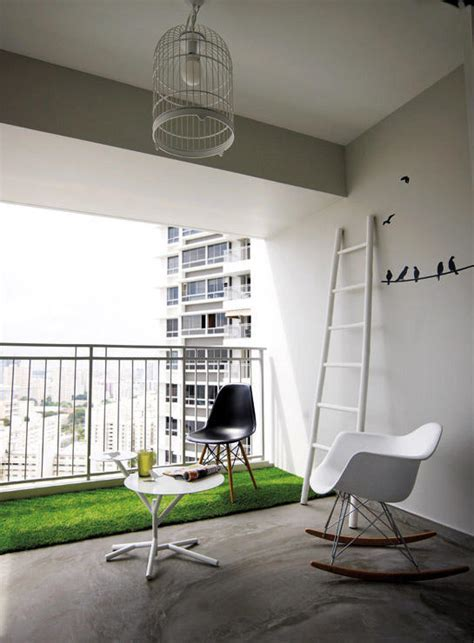 6 creative things to do with a HDB flat's balcony   Home