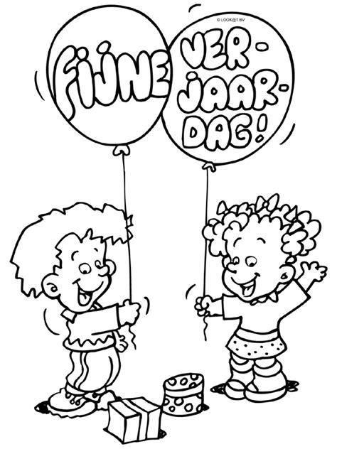 Kleurplaat Gelukkige Verjaardag by Kleurplaten Verjaardag Papa 42 Jaar Kleurplaat Verjaardag