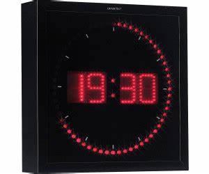Horloge Murale Led : lunartec horloge digitale murale 60 led au meilleur prix sur ~ Teatrodelosmanantiales.com Idées de Décoration