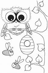Coloring Owl Pages Owls Printable Pa Preschoolers Flags Sunday Country Fancy Popular Pdf Getcolorings Coloringhome sketch template