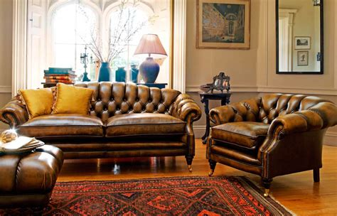 settee in living room sofas chesterfield club chair primer gentleman s gazette