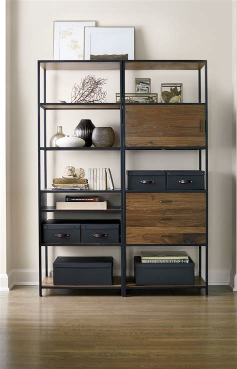 Open Closet Shelves by Storage Bookcase Living Rooms