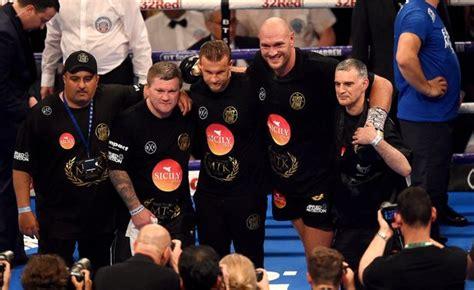 Ricky Hatton defends Tyson Fury's trainer Ben Davison ...