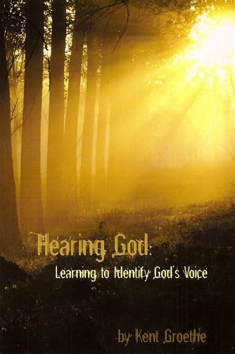 hearing god learning  identify gods voice