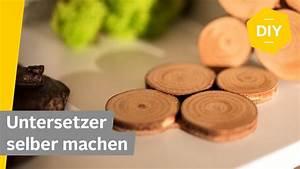 Untersetzer Selber Machen : diy untersetzer selber machen aus rindenscheiben roombeez powered by otto youtube ~ Markanthonyermac.com Haus und Dekorationen