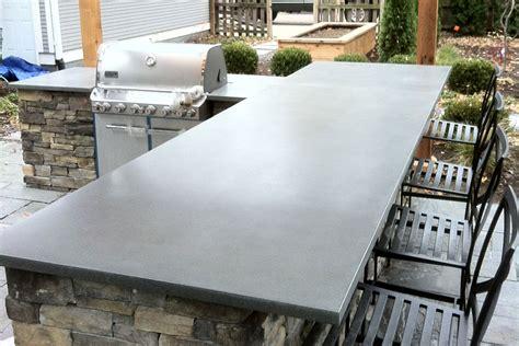 outdoor bar tops outdoor countertops truecrete
