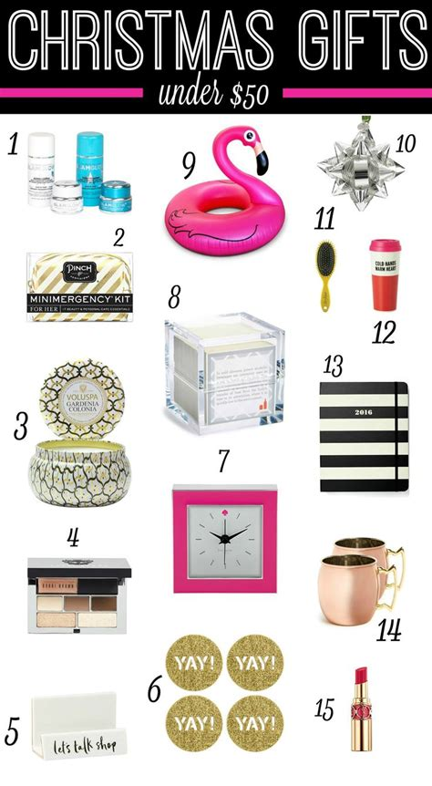 shopping on a modest budget 15 christmas gifts under 50