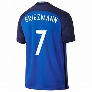 Maillot Griezmann France : maillot griezmann equipe de france fff domicile bleu 2016 ~ Melissatoandfro.com Idées de Décoration