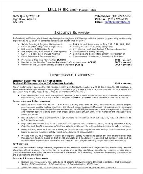 Safety Manager Resume by Construction Safety Officer Resume Construction Project