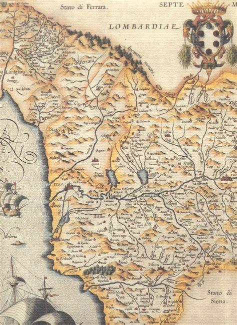 ilots de cuisine cartes géographiques historiques de la toscane 1