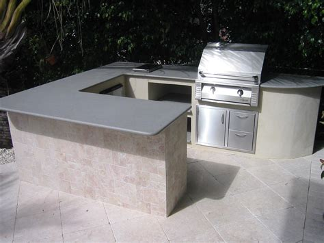 Built In Alfresco Gas Grill Outdoor Kitchen