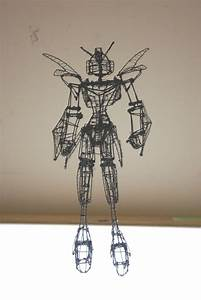 Art Now And Then  3d Wire Projects
